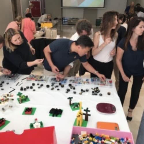 atelier construction de briques Lego