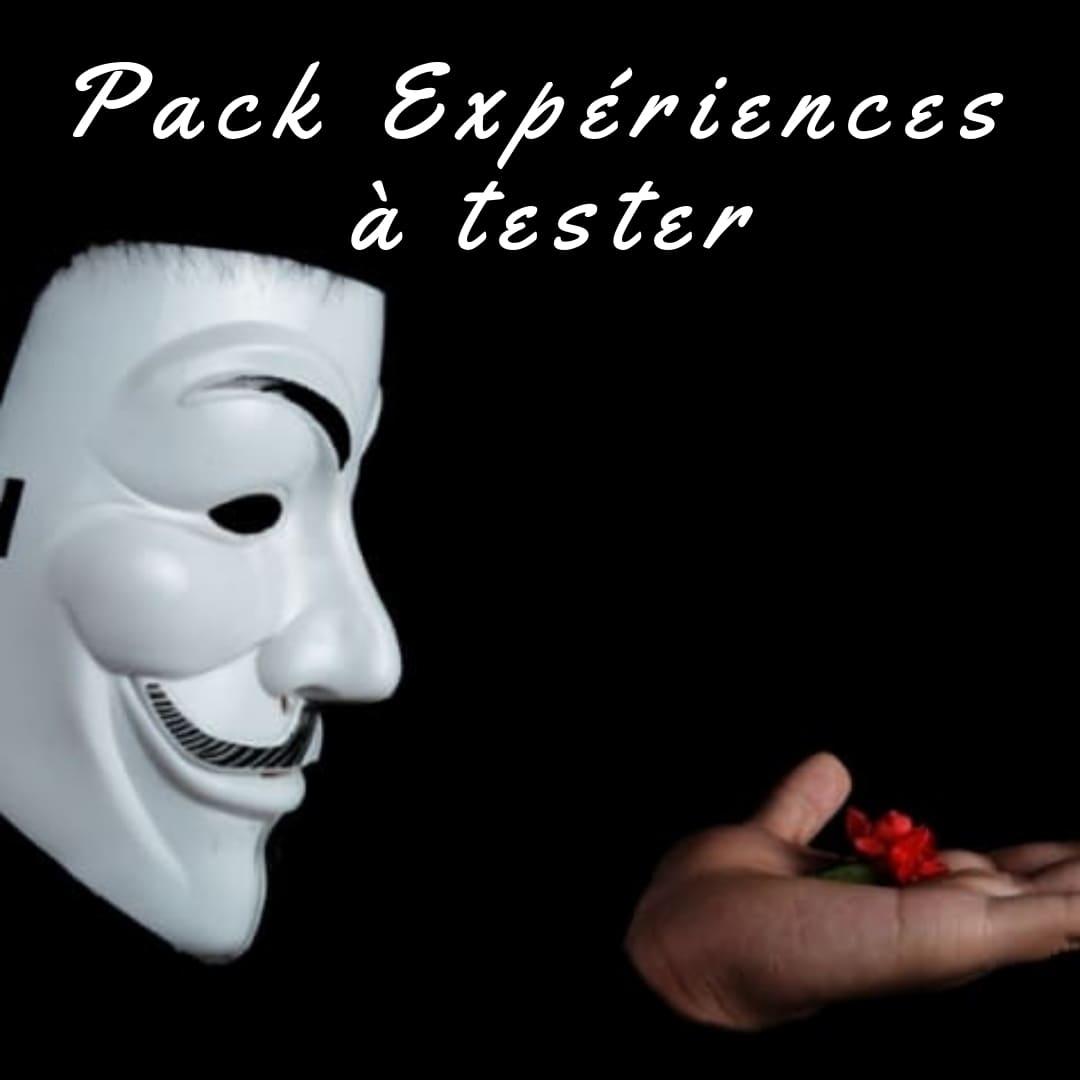 pack EVG; Enterrement de vie de Garçon; activité insolite; originale; expériences; test