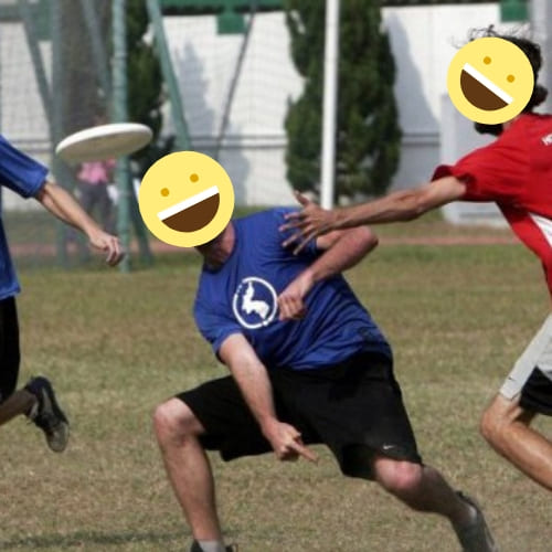 ultimate frisbee team building