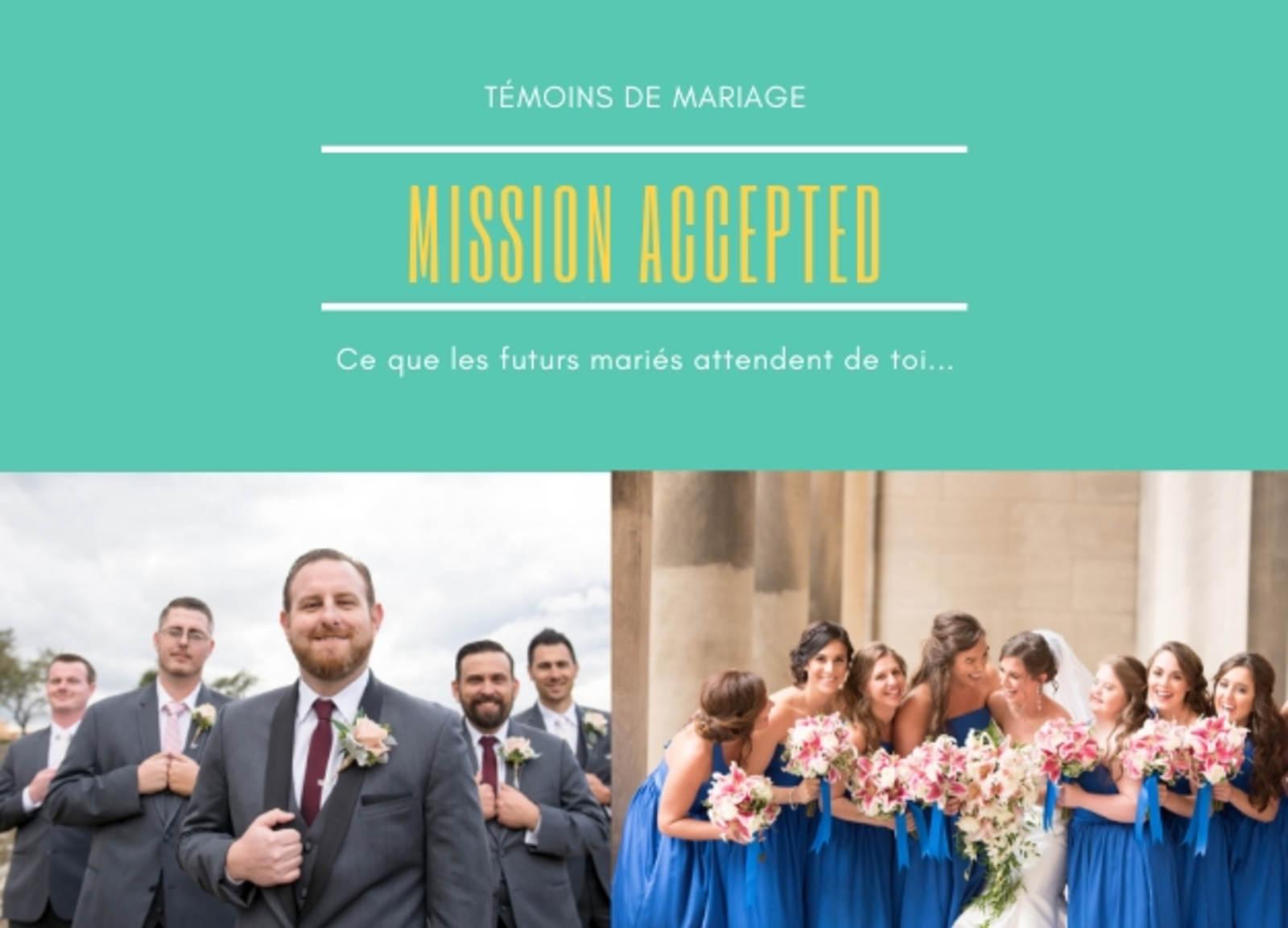 73f485d5c549a Témoins de mariage : ce que les mariés attendent de vous...