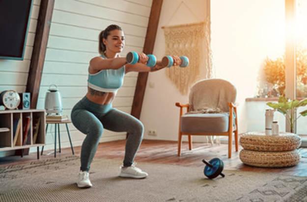 Photo l'actualité : Comment faire du sport à la maison